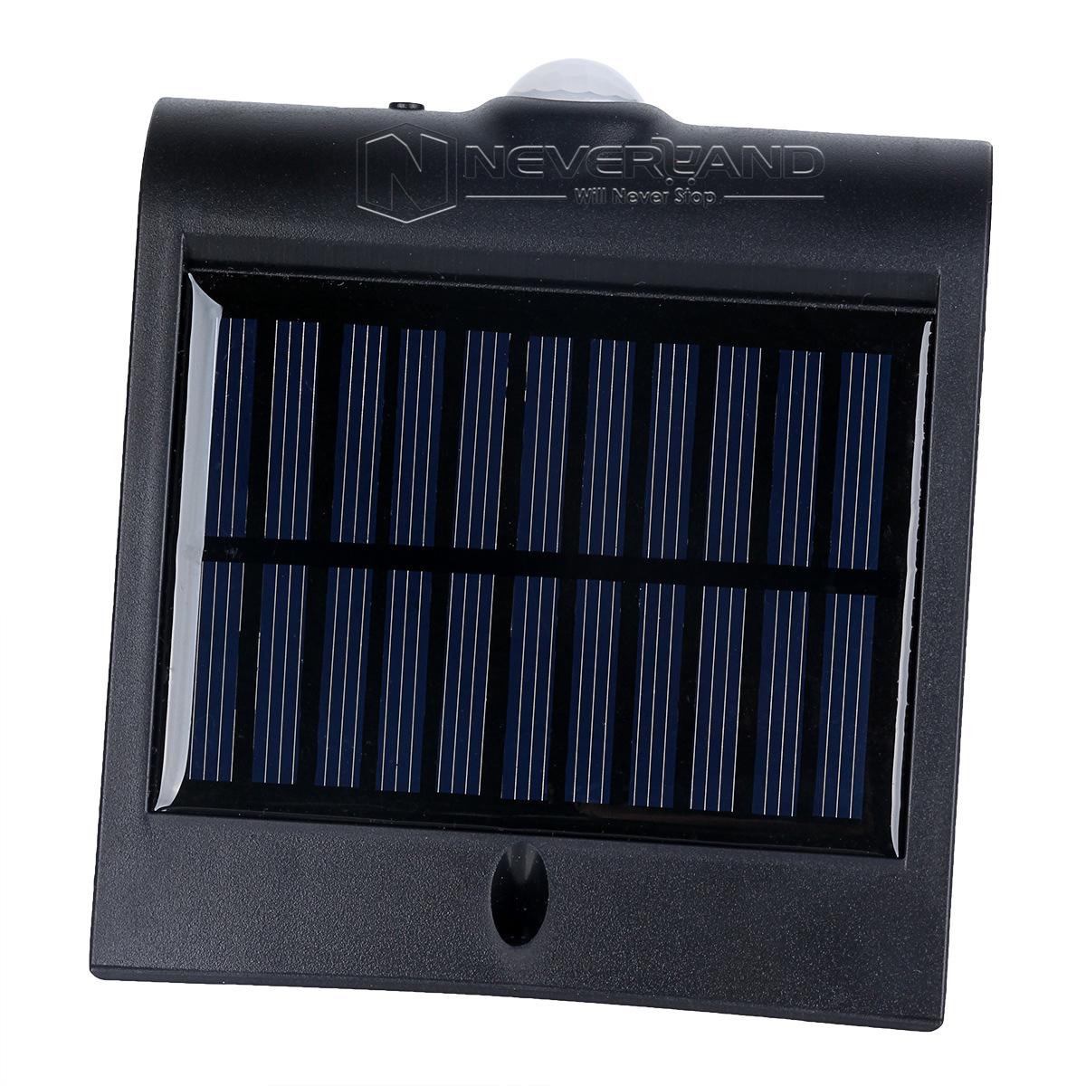 led cob au en solarlampe bewegungsmelder solarleuchte. Black Bedroom Furniture Sets. Home Design Ideas
